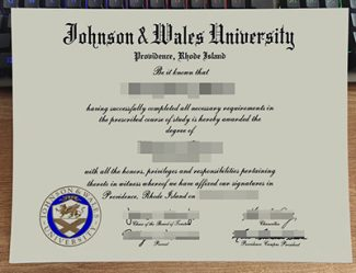 Johnson & Wales University diploma, Johnson & Wales University degree, fake JWU diploma,