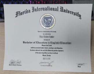 Florida International University diploma, fake FIU diploma,