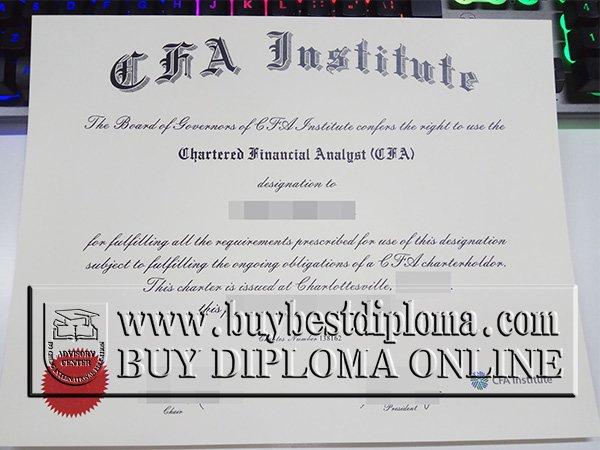 cfa certificate aicpa program