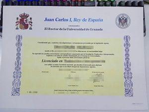 Universidad de Granada diploma, Universidad de Granada degree, fake Spain diploma,