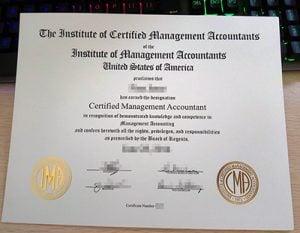 CMA certificate, CMA license,