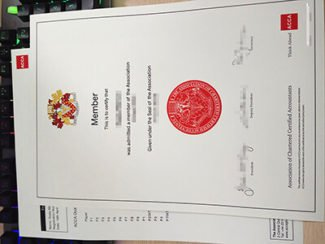 ACCA Certificate, ACCA transcript, ACCA diploma,