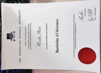 Australian National University degree, Australian National University diploma, fake ANU diploma,