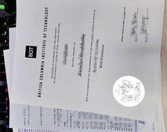 BCIT diploma, BCIT transcript,