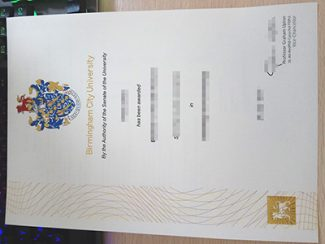Birmingham City University diploma, fake BCU degree, fake BCU diploma,