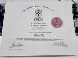 Bishop's university diploma, Bishop's university degree,