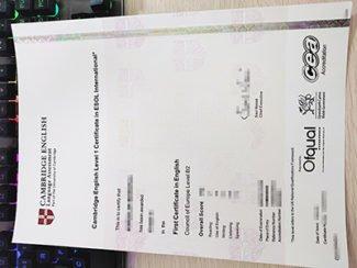 fake ESOL certificate, fake FCE certificate