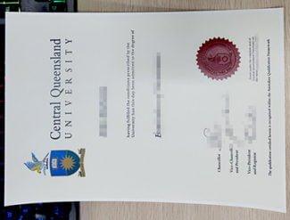 Central Queensland University diploma, CQU diploma, fake Central Queensland University degree,