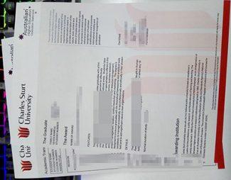 Charles Sturt University transcript, Charles Sturt University degree, fake CSU transcript,
