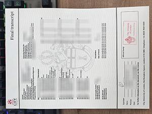 City University of London transcript, fake CUL transcript, fake City University of London certificate, 伦敦城市大学成绩单,