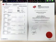 fake INTI degree, fake INTI transcript,