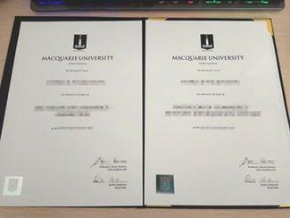 Macquarie University degree, Macquarie University diploma,