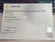 NEBOSH National Diploma, fake NEBOSH diploma,