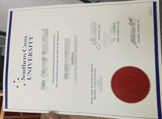 Southern Cross University diploma, Southern Cross University degree, fake SCU diploma,