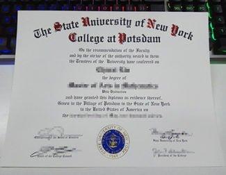 SUNY Potsdam diploma, SUNY Potsdam degree,