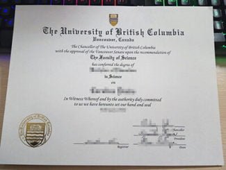 UBC diploma, UBC degree, University of British Columbia diploma,