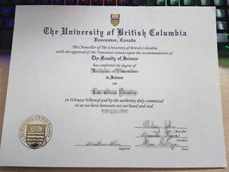 UBC diploma, UBC degree, University of British Columbia diploma,