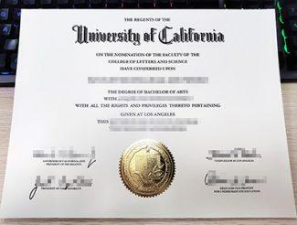 UCLA diploma, University of California Los Angeles diploma, UCLA bachelor degree,