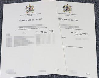 UWE Bristol transcript, fake UWE transcript, University of West England transcript,