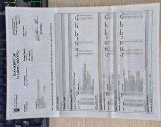 University of British Columbia transcript, UBC transcript,