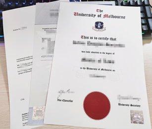 University of Melbourne diploma, University of Melbourne transcript,
