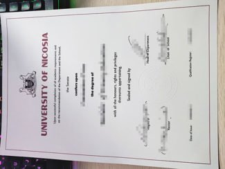 University of Nicosia diploma, University of Nicosia degree,
