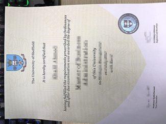 University of Sheffield degree, University of Sheffield diploma,