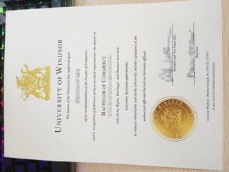 University Of Windsor Diploma, University Of Windsor Degree,