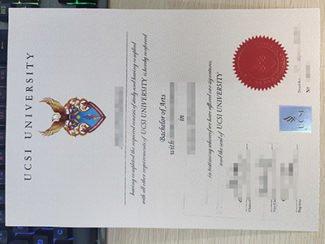 UCSI diploma, UCSI university degree,