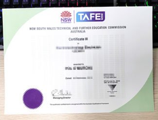TAFE NSW Certificate, fake TAFE certificate, TAFE diploma,