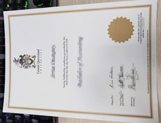 fake Central Queensland University diploma, fake CQU diploma, CQU degree,