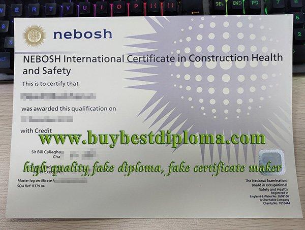 nebosh certificate icc diploma