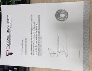 Taylor's University degree, Taylor's University diploma,