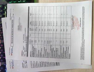 Université Paris Nanterre transcript, Paris Nanterre University transcript, fake Université Paris diploma,