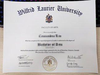 Wilfrid Laurier University Diploma, Wilfrid Laurier University Degree, fake Canada diploma,