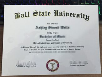 ball state university diploma, ball state university degree, fake BSU diploma,