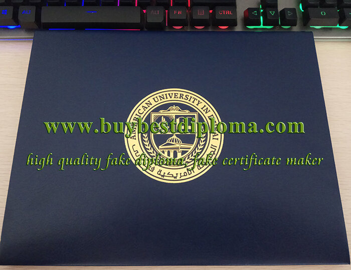 AUD diploma cover, AUD diploma holder, fake diploma holder
