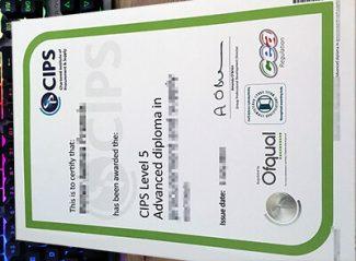 CIPS diploma, CIPS level 5 advanced diploma,