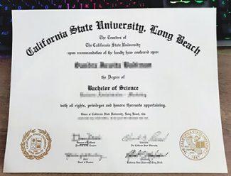 CSU Long Beach diploma, California State University Long Beach degree, fake CSULB diploma,