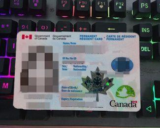 Canada PR card, Canada Permanent Residence card,