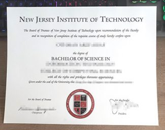 NJIT diploma, New Jersey Institute of Technology degree,