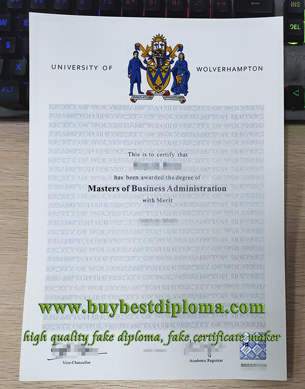University of Wolverhampton degree, University of Wolverhampton diploma, fake MBA degree,
