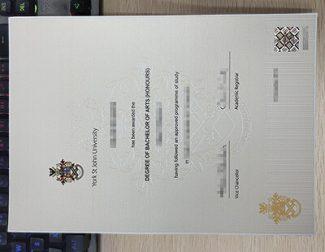 York St John University diploma, York St John University degree,