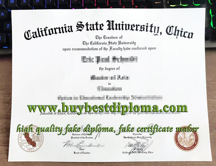 CSU Chico Diploma, fake California State University Chico degree, fake California State University diploma,