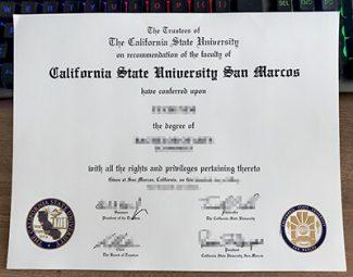 CSU San Marcos diploma, CSU San Marcos degree, fake California State University San Marcos diploma,