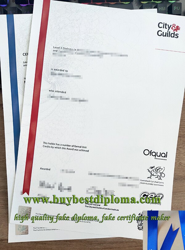 City & Guilds diploma, City & Guilds certificate, City & Guilds transcript,