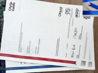 City & Guilds diploma, City & Guilds certificate, City & Guilds transcript,