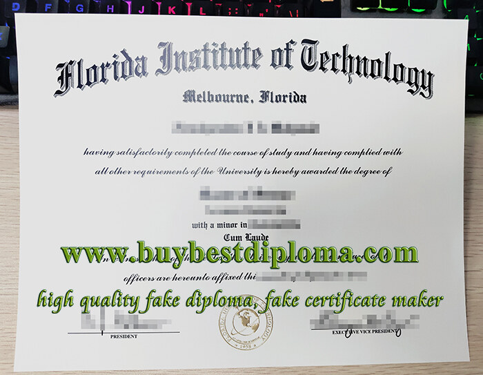 Florida Institute of Technology diploma, Florida Institute of Technology degree, fake FIT diploma,