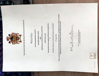 Manchester Metropolitan University degree, Manchester Metropolitan University diploma, fake MMU degree,