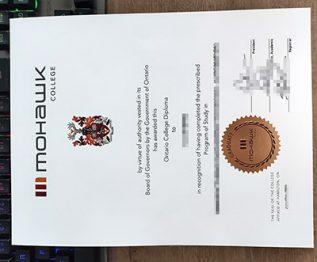 Mohawk College diploma, Mohawk College degree, fake Ontario College Diploma,
